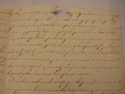 Four Documents Relating to the Vernon Brothers, Slave Traders of Newport, Rhode Island.     Estimate $300-500