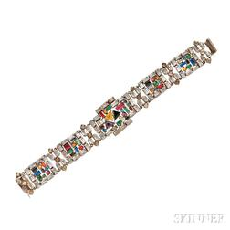 Art Deco Costume Bracelet