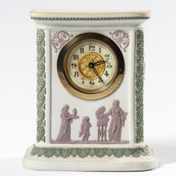 Wedgwood Tricolor Jasper Clock Case