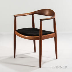 "Hans J. Wegner for Johannes Hansen ""The Chair"" Armchair"
