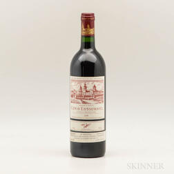 Chateau Cos dEstournel 1989, 1 bottle