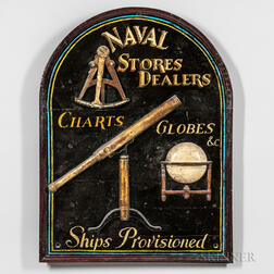 Nautical Painted Trade Sign
