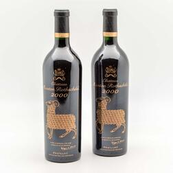 Chateau Mouton Rothschild 2000, 2 bottles