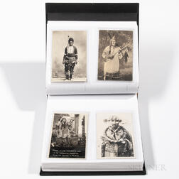 110 Postcards of American Indians