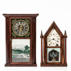 Brewster & Ingraham and Jerome Shelf Clocks
