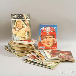 Fifty Early Issues of Sports Illustrated   Magazine including the First   Issue
