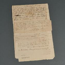 Levi Lawrence Revolutionary War Pension Papers