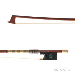 Gold-mounted Violin Bow, Henryk Kaston