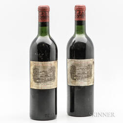 Chateau Lafite Rothschild 1957, 2 bottles