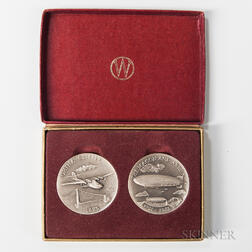 Boxed Aviation-related Medals