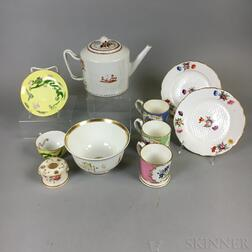 Ten Porcelain Items