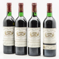 Chateau Margaux 1982, 4 bottles