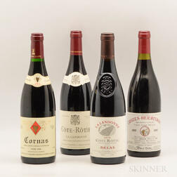 Mixed Northern Rhone Wines, 4 bottles