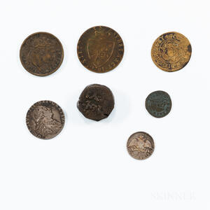 Small Group of Coins and Jetons