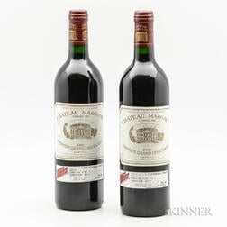 Chateau Margaux 1986, 2 bottles
