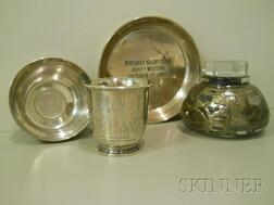 Four Small Silver and Silver-mounted Articles