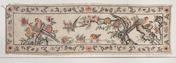 Embroidered Gauze Marriage Hanging