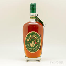 Michters Rye 10 Years Old, 1 750ml bottle