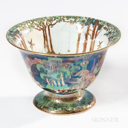 Wedgwood Fairyland Lustre Antique Center Bowl