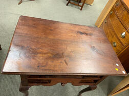 Queen Anne Walnut Dressing Table