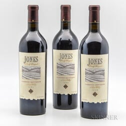 Jones Family Cabernet Sauvignon 1999, 3 bottles