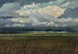 Eric Sloane (American, 1905-1985)      Squall Line
