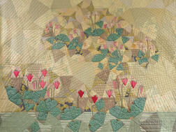 Ruth McDowell Quilt Cyclamen