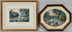 Two Currier & Ives, Publishers (American, 1857-1907) Lithographs