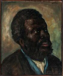 Attributed to David Gilmour Blythe (American, 1815-1865)      Southern Household Slave