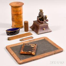 Collection of Early Desk Items and Accessories
