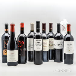 Mixed Spanish Wines, 10 bottles