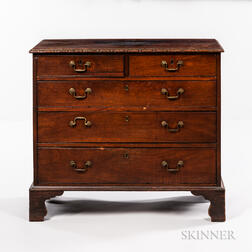 George III Diminutive Mahogany Chest of Drawers