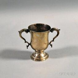 George III English Sterling Silver Two-handled Loving Cup