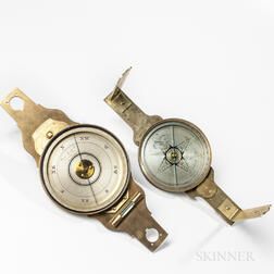 Two James Reed Surveyor's Compasses