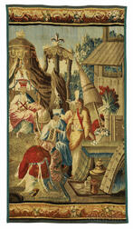 Aubusson Tapestry of The Audience of the Chinese Emperor