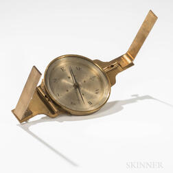 William E. Stieren Surveyor's Compass