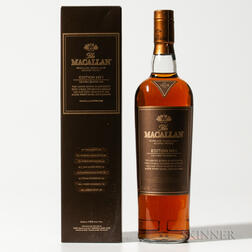 Macallan Edition 1, 1 750ml bottle (oc)