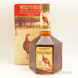 Wild Turkey 8 Years Old, 1 1/2 gallon bottle (oc)