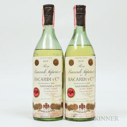 Bacardi Carta Blanco, 2 4/5 quart bottles
