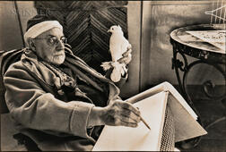 Henri Cartier-Bresson (French, 1908-2004)    Matisse Sketching