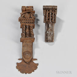 Two Casket Latches