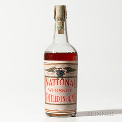 National Whiskey 4 Years Old, 1 4/5 quart bottle