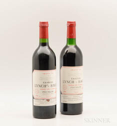 Chateau Lynch Bages, 2 bottles