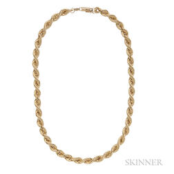 14kt Gold Rope Chain