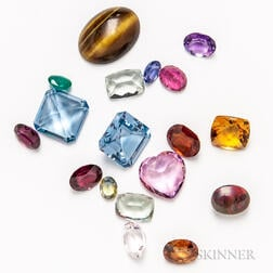 Group of Gemstones