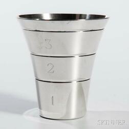 Silver Drink Measure