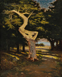 Richard Langtry Partington (American, 1868-1929)      Ghost Tree, 17 Mile Drive