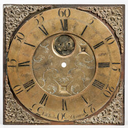 Edward Barlow Composite Brass Clock Dial