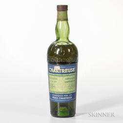 Green Chartreuse, 1 pint 7.6 oz. bottle