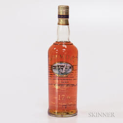 Bowmore 17 Years Old, 1 750ml bottle